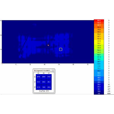 Viscotech pressure mapping